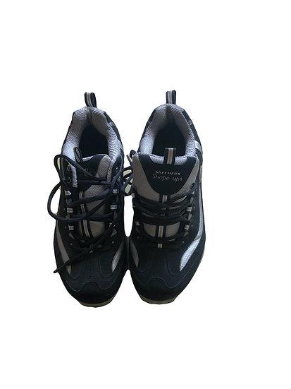 Schwarz/weißen Skechers