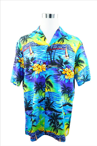 """Hula Hula"" -  Traditionell Hawaii-Hemd"