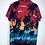 Thumbnail: Aloha Hawaii Hemd blau/schwarz/weiss