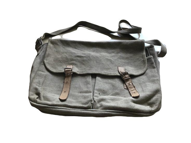 Vintage khaki Tasche