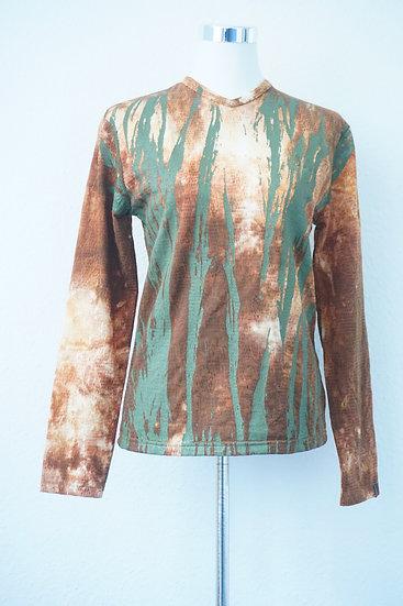 """""""Blitz und Donner""""-  Sweatshirt mit gemalten Linien"""