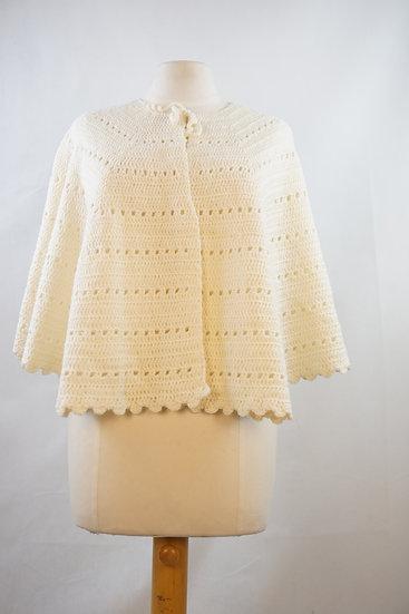 """""""Super Süß!"""" - Weißer handgemachter Pullover"""