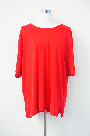 """""""Lady in red"""" - Rote Slinky-Bluse"""