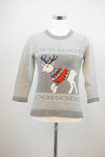 Pullover mit dem besten Freund des Weihnachtsmann