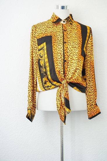 "Kopie von ""Colorful Jungle"" - buntes Hemd"