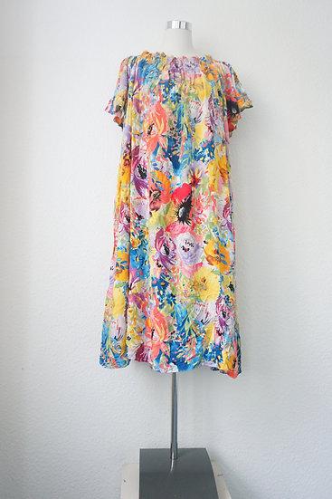 """Sunny Blumenfeld"" - Buntes Kleid mit Blumendruck"