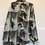 Thumbnail: Vintage Bluse braun/schwarz/grün/rost/lila