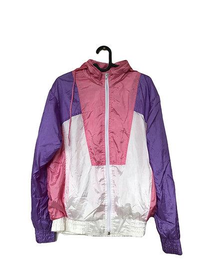 Lila/rosa/weiße Sportjacke von Zweiteiler