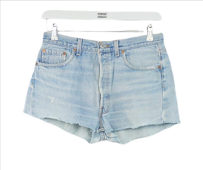 """Blue Girl!""- Levis Shorts hellblau"