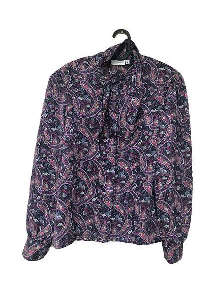 Mehrfarbige Bluse