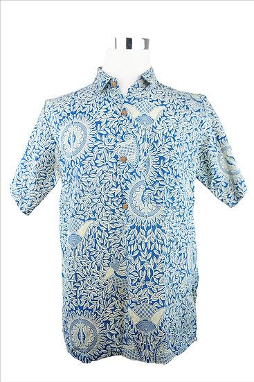 """Meditation"" Blaues Hemd"