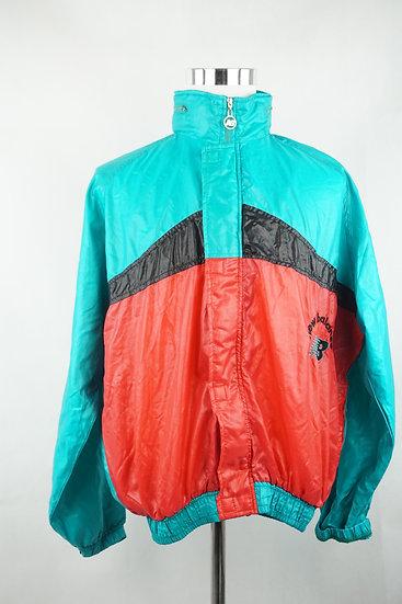 Neon 90er Sportjacke