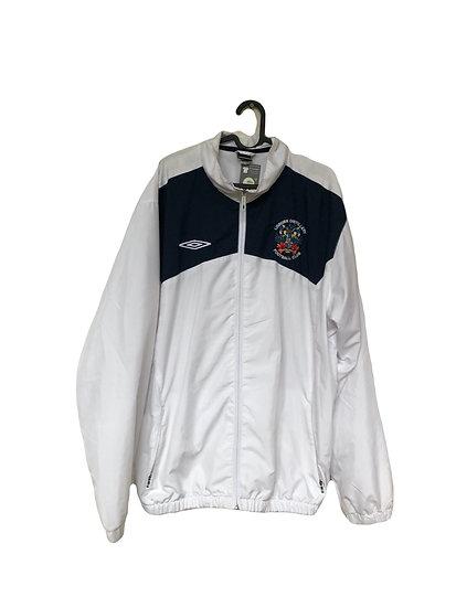 Schwarz/weiße Umbro Sport Jacke