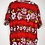 Thumbnail: Klassisches Hawaii Hemd rot/weiss/gelb/schwarz