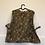 Thumbnail: Vintage Bluse braun/grün/rost