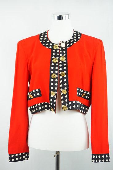 Rote Moschino Jacke