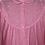 """Thumbnail: Rosa """"Granny"""" Nachthemd mit Stickereien"""