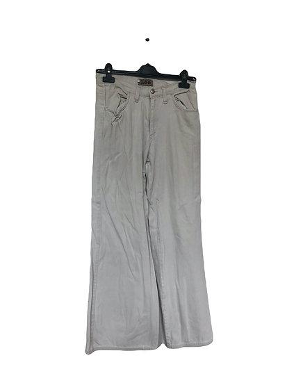 Weiße Lee Damenhose