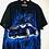 "Thumbnail: Schwarzes ""Hot Wheels"" Hemd blau/wiess/rot"