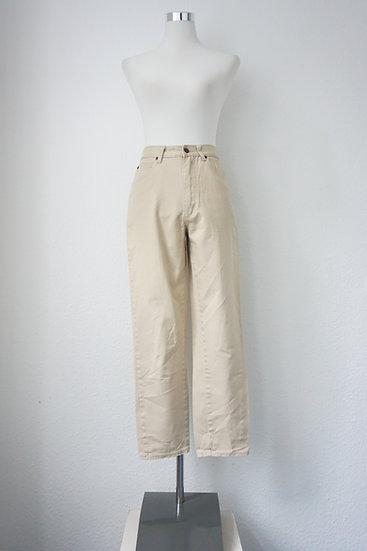 """Mom Jeans "" - High Waist Jeans Beige"