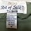 Thumbnail: Kurze Olivgrüne Hose mit Taschen