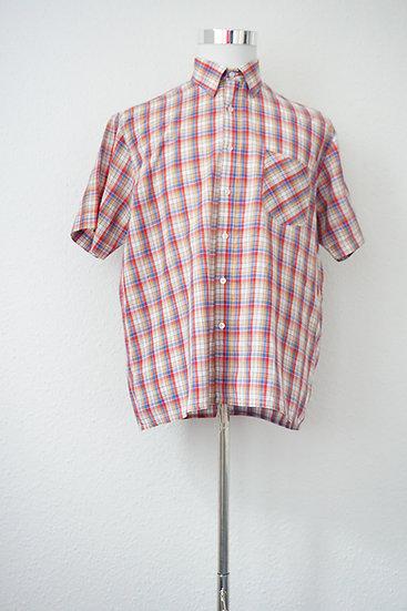 """""""Picknick Date"""" - Graues Hemd mit roten Karos"""