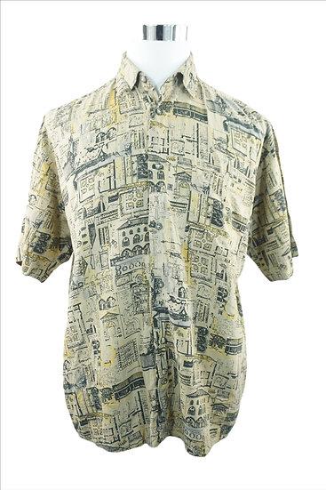 """Urlaub in Italien"" -Hemd Vintage"