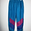 Thumbnail: Vintage Sporthose lila/rosa/türkis