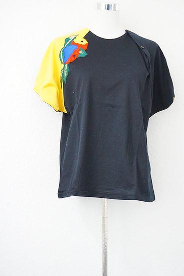 """""""Fruits"""" - schwarzes Shirt mit Print"""