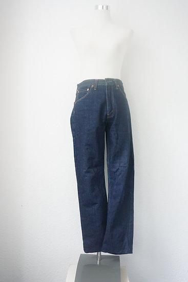 """""""Cool Hippie"""" - Blaue Levis Strauss Jeans"""
