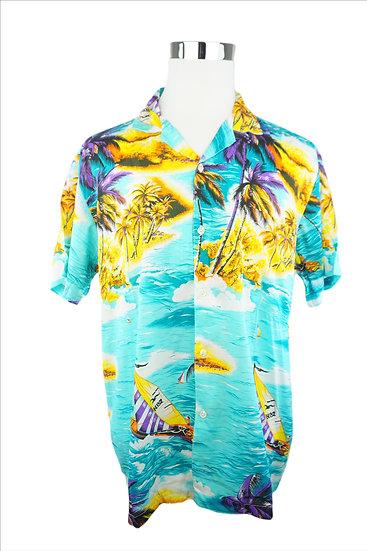 """Urlaub auf den Bahamas"" - Hawaii Hemd türis"