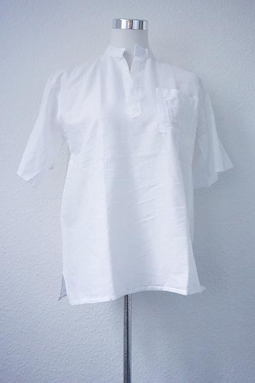 """""""Gehn wie ein Ägypter""""- Weiße Bluse mit ägyptischer Verzierung"""