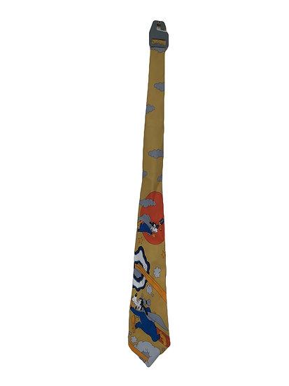 Vintage Krawatte mit Goofy Motiv