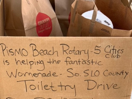 An Amazing Outpouring of Generosity of Toiletry Donations!