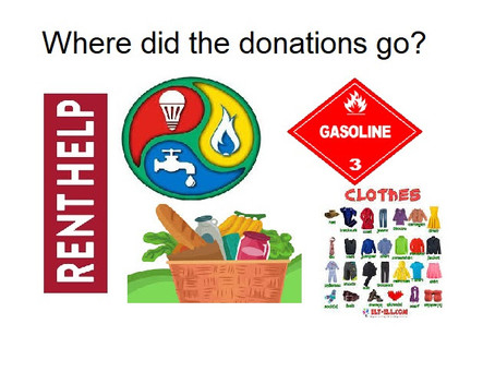 Your Donations Are Doing So Much in Our Community!