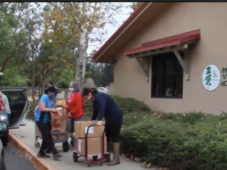 Womenade on KSBY - Our Successful Book Drive!