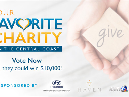 Please Vote For Us! KSBY's Your Favorite Charity