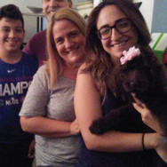 This family adopted Maggie & Moose!!