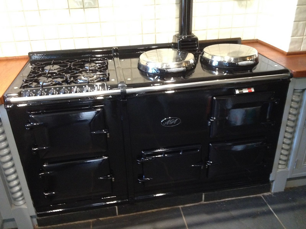 Aga cleaned in Herefordshire