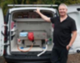 Oven Cleaning Van