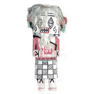 STONE EATING KACHINA, PHILBERT HONANIE