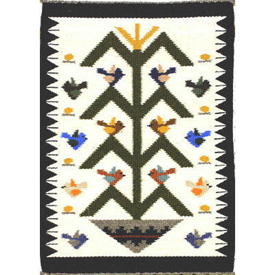 NAVAJO, TREE OF LIFE RUG, ELLA BEGAYE