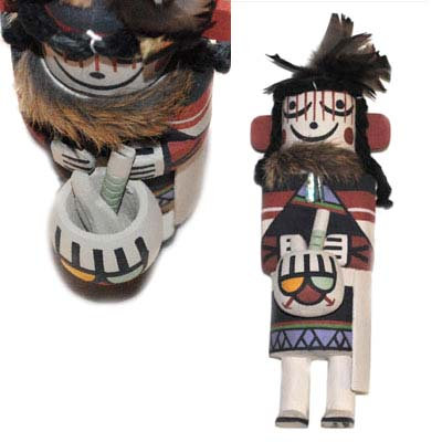 GRANDMOTHER KACHINA, SONY SEEKLETS