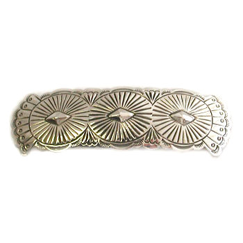UNKNOWN ARTIST, SILVER BARRETTE