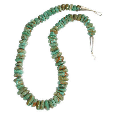 LITA ATENCIO, TURQUOISE NUGGET NECKLACE