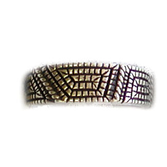 ELGIN TOM, NAVAJO SILVER RING