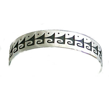 UNKNOWN ARTIST, HOPI SILVER BRACELET