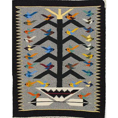 NAVAJO, TREE OF LIFE RUG, NORA BITAH