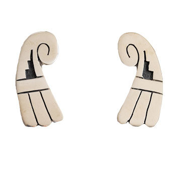ELMER SETALLA JR, HOPI EARRINGS