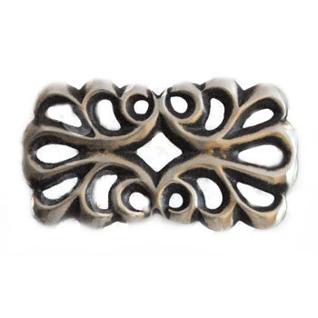 FRANCIS JONES, NAVAJO SANDCAST BUCKLE